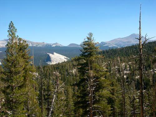 Lembert Dome and Mount Dana...