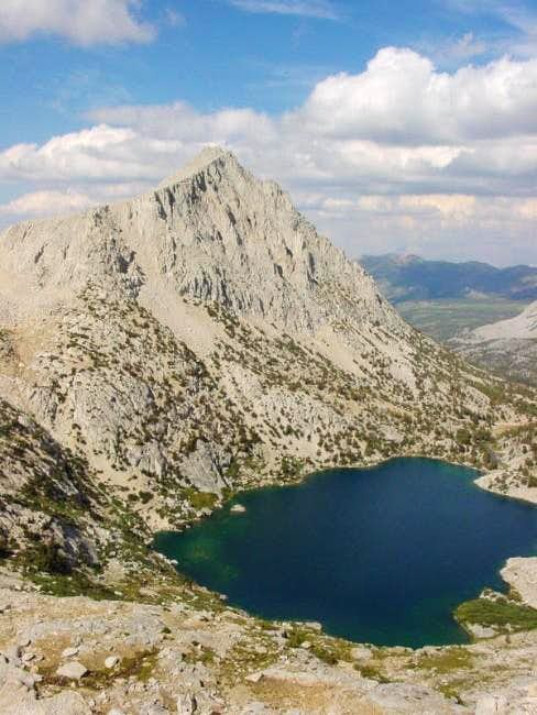 Mt. Starr above Ruby Lake,...