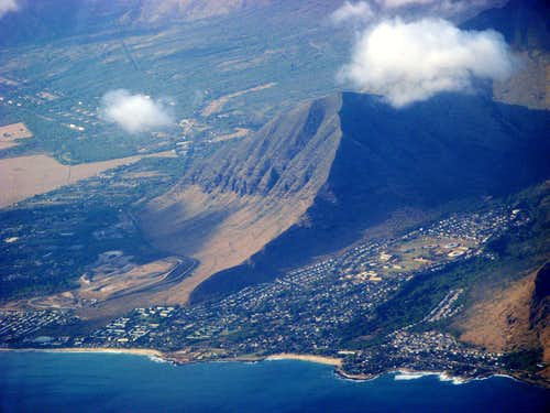Kauai from air