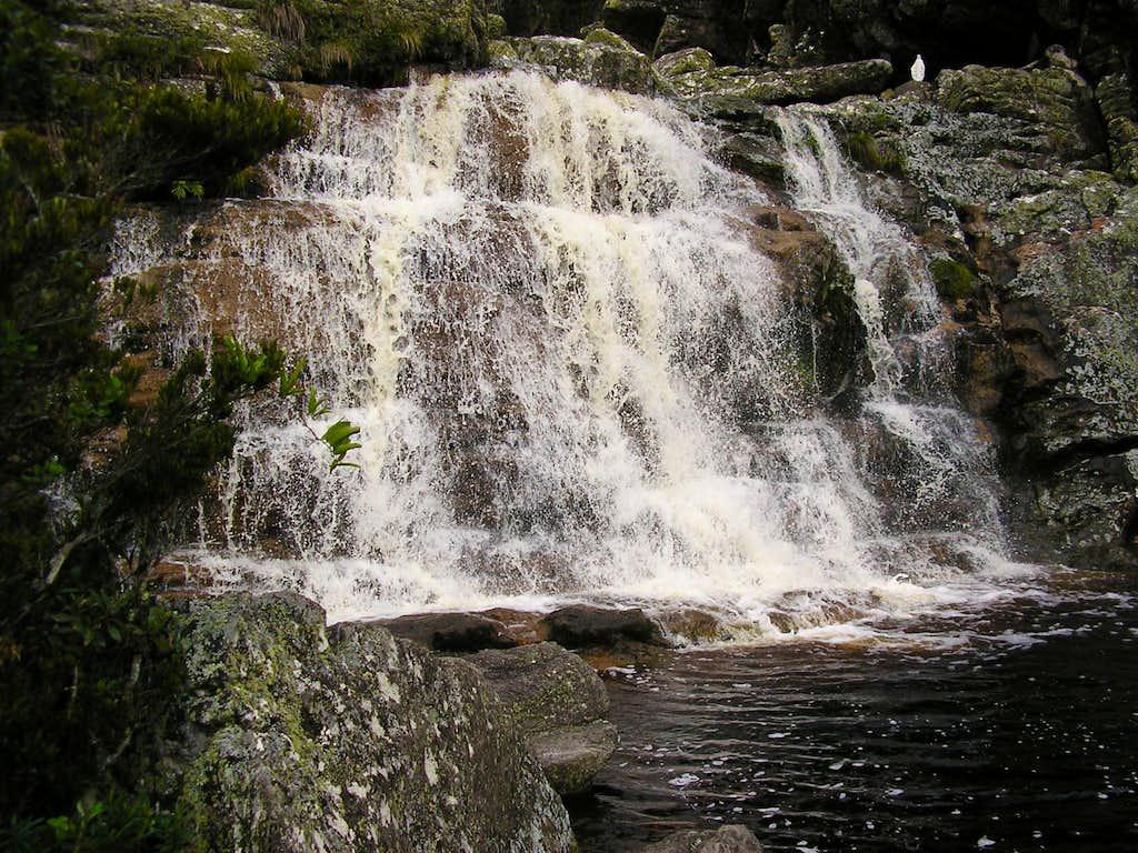 Cascatinha's waterfall
