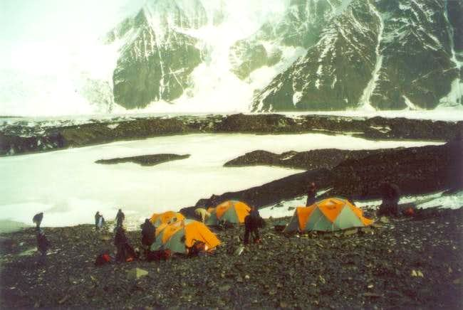 A camp on one of the Brooks...