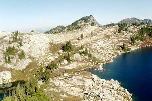 Trico Peak as seen from Upper...