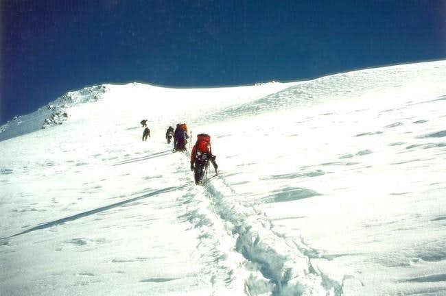 Ascending Mt. Silverthrone's...
