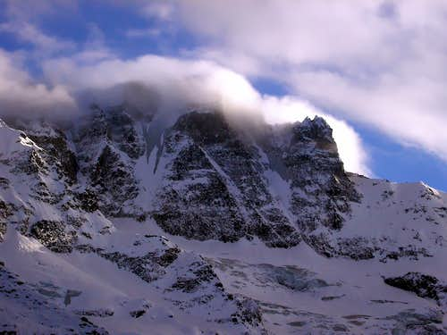 North face of Becca di Gay (3621m)