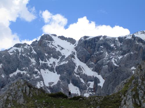 View to Hochseiler from Taghaube summit