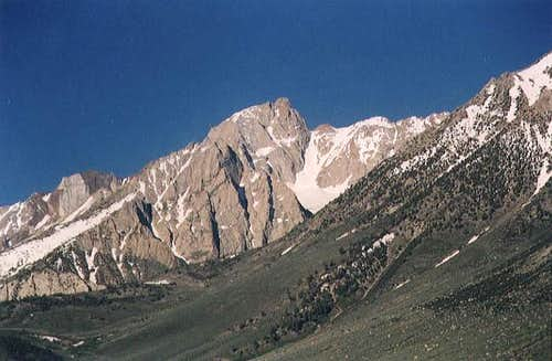 Mount Humphreys, viewed from...