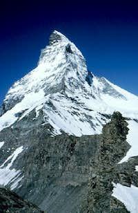 The Hörnli ridge taken on...