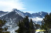 Longs Peak from Half Mountain