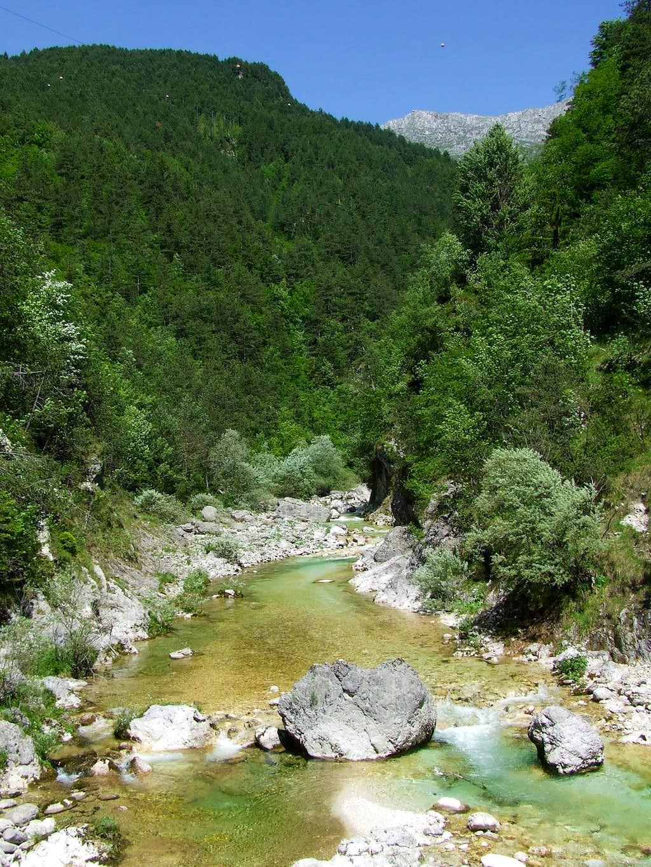 Torrente ( river ) Resia ...