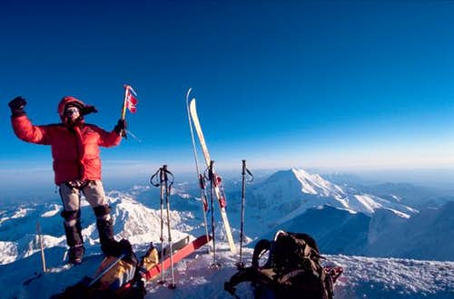 Me on summit of Denali on the...