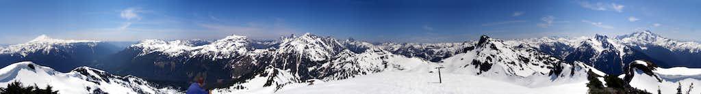 Goat Mountain 360° View