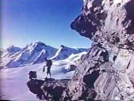 Gaston Rebuffat on the Matterhorn