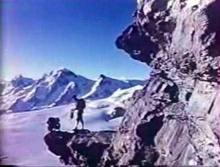 Gaston Rebuffat on the Matterhorn