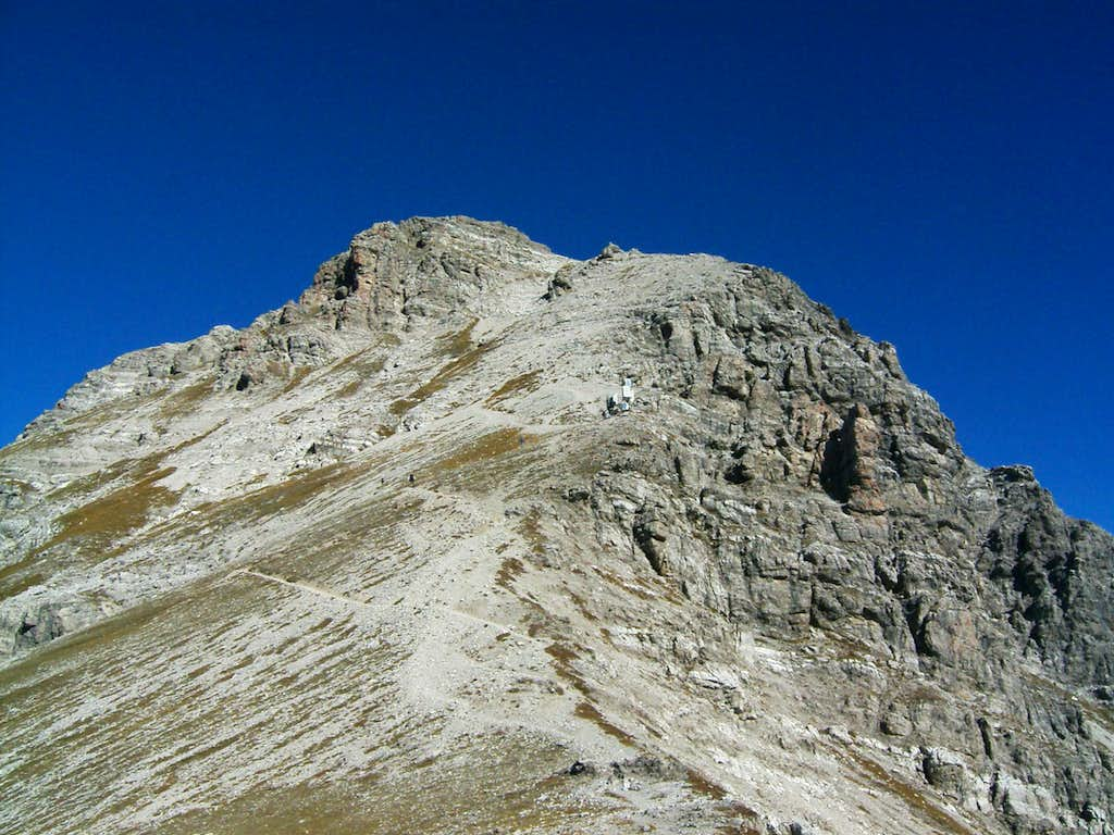 The summit of Mohnenfluh