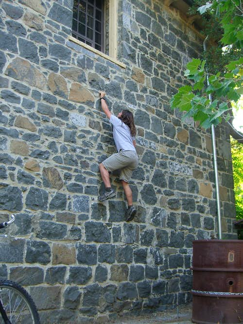 Me Buildering Forbes Mill