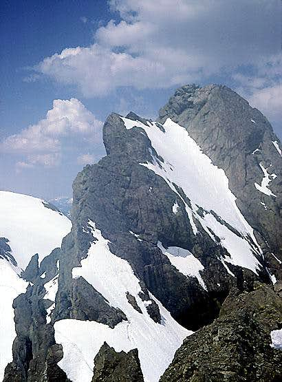 North Ingalls Peak, East Ridge