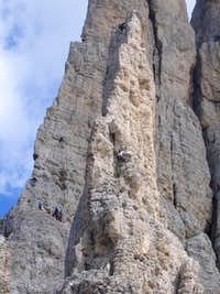 Climbers on the PiazTower