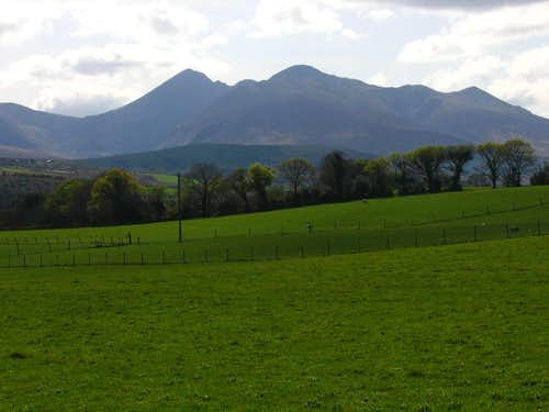 The Reeks from Beaufort