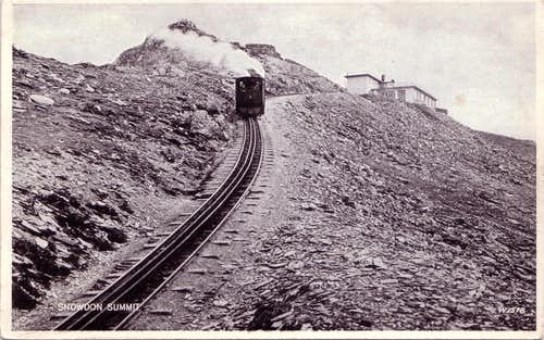 Snowdon Mountain Railway circa 1930s