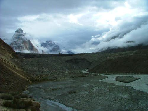 Beautiful View of Baltoro Glacier