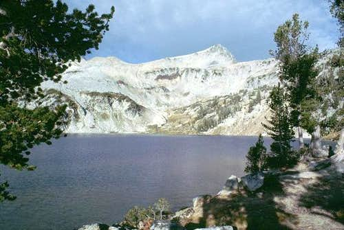 Eagle Cap rises above Glacier...