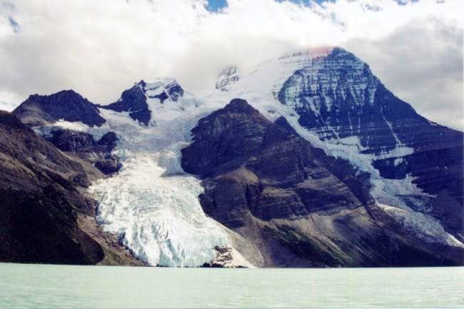 Berg Lake and North Face of...