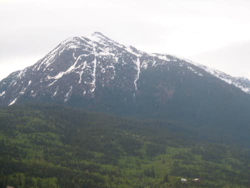 Closeup of AB Mountain