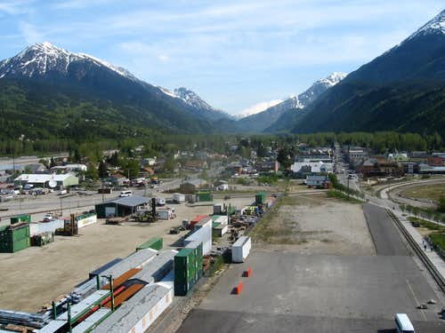 AB Mountain and Skagway