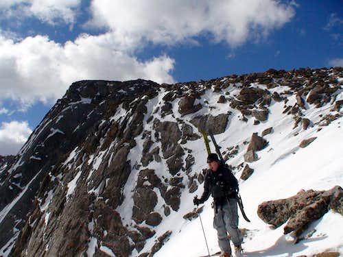 Evans from ridge
