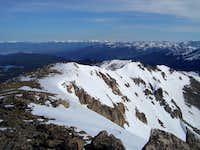Mt Neva's North Ridge