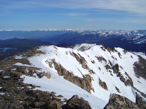 Mt Neva\'s North Ridge
