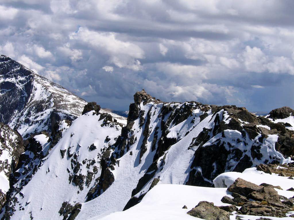 Powell Peak's spectacular summit perch