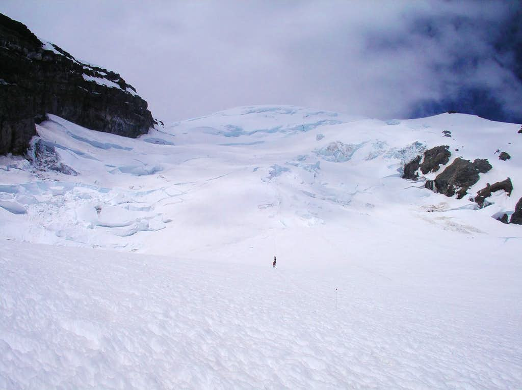 Ingraham Glacier from The Flats