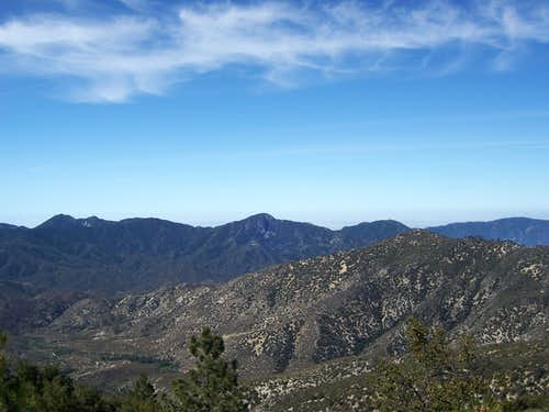 The San Gabriel Front Range