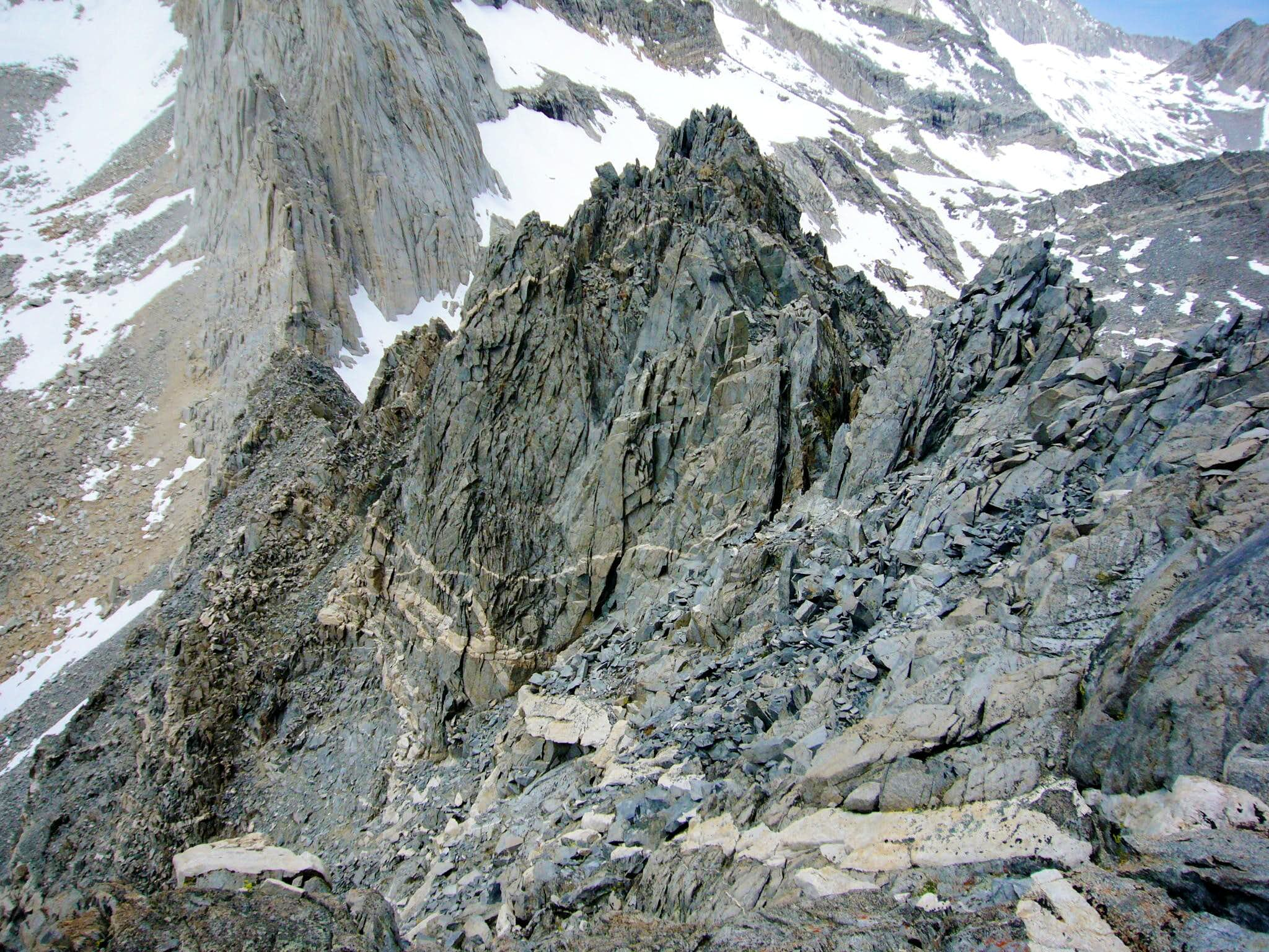 West Ridge (Spire Col South)