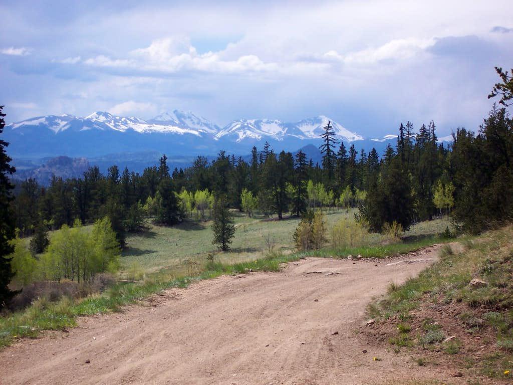 Views from Packer Gulch trailhead