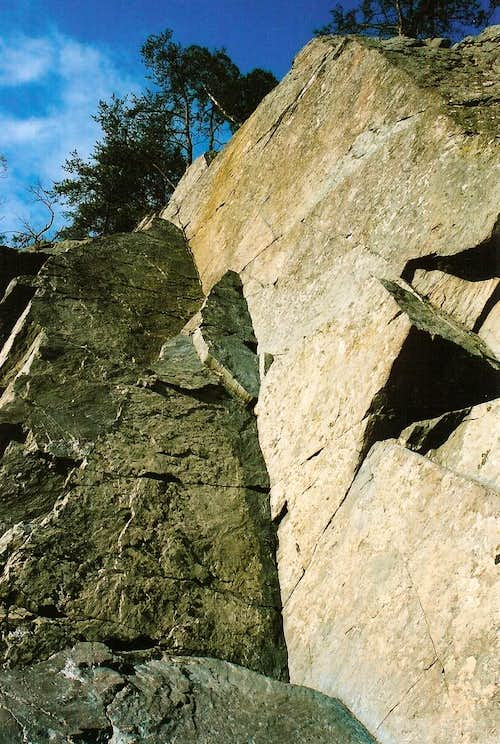 Trad Routes at Great Falls