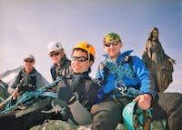 Summit of Pointes de Mourti