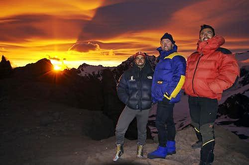 camp canada sunset