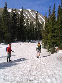 Heading up towards Isabelle Lake