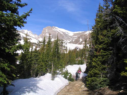 Further into Indian Peaks Wilderness