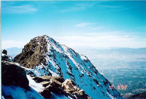 Broads Fork Twin Peaks - west twin