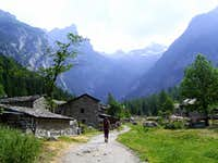 On our way to Val di Mello