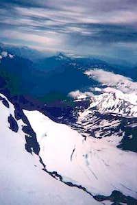 Hailstorm approaching Glacier...