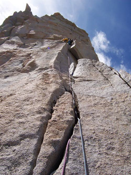 Last pitch of Third Pillar