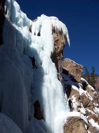Bulling up to the Ice in Ouray