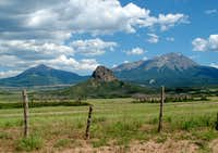 East and West Spanish Peaks