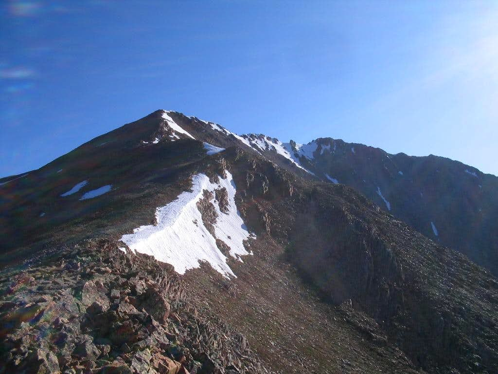 Southwest Ridge - Ervin Peak