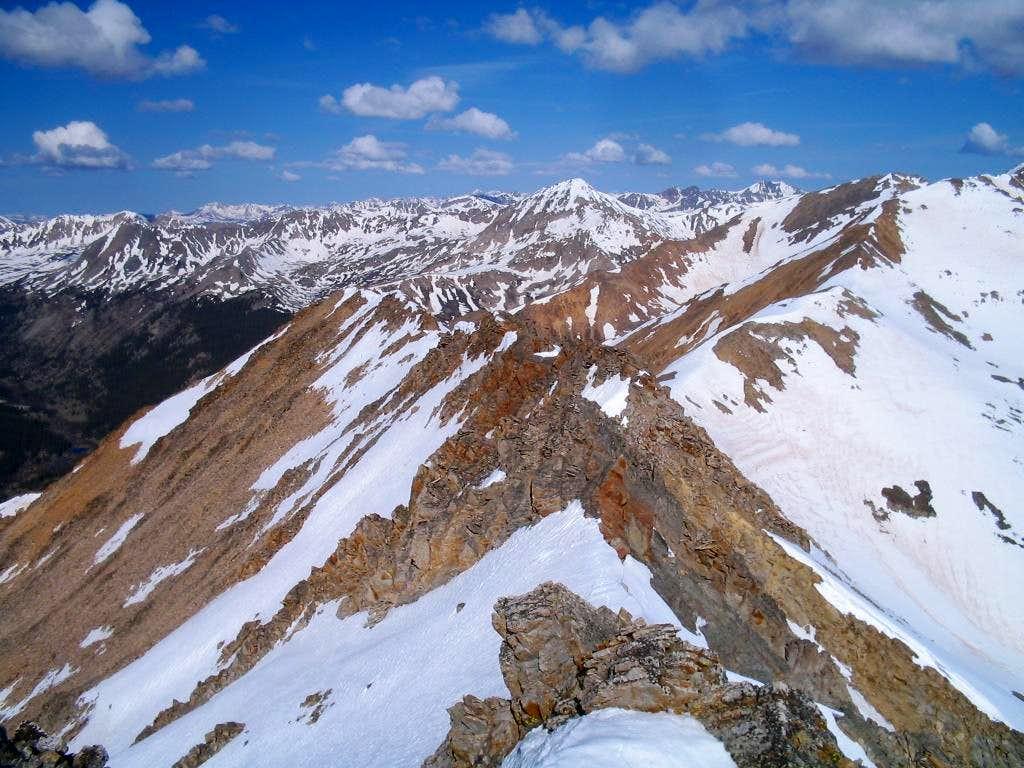 Ervin's summit ridge