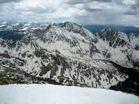 The Three Apostles from the summit of Huron